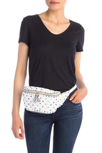 Load image into Gallery viewer, Valenté Studded & Quilted Leather Belt Bag