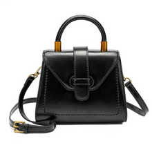 Load image into Gallery viewer, Single Handle Gradient Leather Satchel/ Shoulder Bag