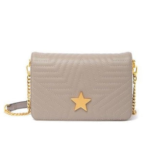 Quilted Lambskin Star Shoulder Bag