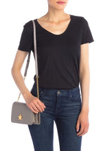 Load image into Gallery viewer, Quilted Lambskin Star Shoulder Bag