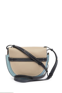 Flap Leather Shoulder/ Crossbody Bag