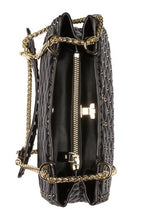 Load image into Gallery viewer, Valenté Studded & Quilted Leather Shoulder Bag