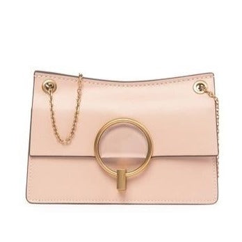 Leather Flap Shoulder Bag