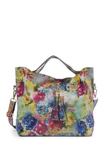 Load image into Gallery viewer, Vintage Floral Leather Shoulder Bag