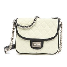 Load image into Gallery viewer, Double-Sided Quilted Leather Shoulder Bag