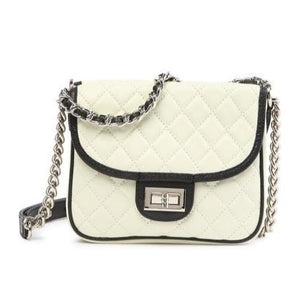 Double-Sided Quilted Leather Shoulder Bag