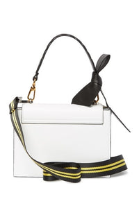 Nappa Leather Flap Shoulder Bag