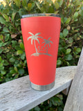 Custom 20 oz Stainless Steetl Tumbler - laser etched