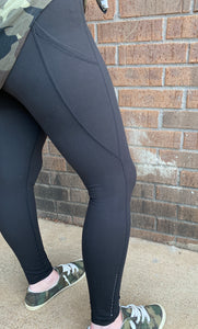 Black Cozy Leggings