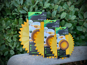 Airtight Lids - Sunflower Collection - Various Sizes