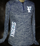 Frenship Tigers Women's Quarter-Zip Pullover - REFLECTIVE!!