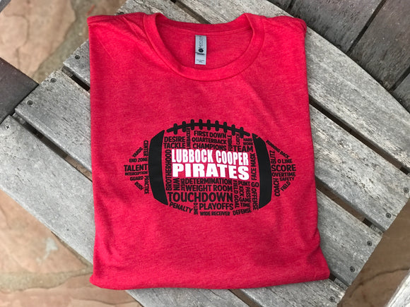 LCP Lubbock Cooper Pirates School Spirit Shirt