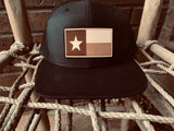 Cap with Texas Flag Leather Patch