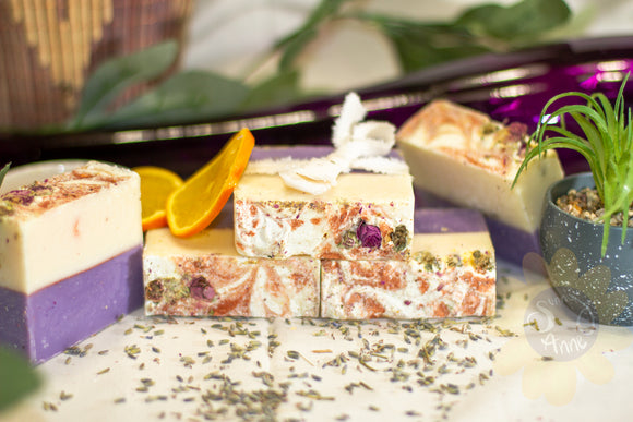 Lavender Orange Soap
