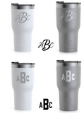 Custom RTIC Tumbler - laser etched (multiple color options