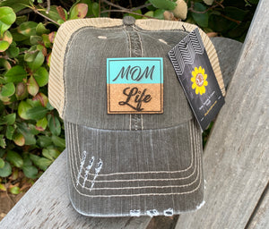 """Mom Life"" Patch Cap"
