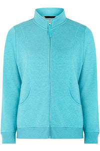 Ex Bon Marche Plus Size Zip Through Funnel Neck Jacket Fleece Jumper