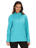 Ex Regatta Sweethart Ladies Half Zip Fleece Top Plus Size