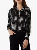 Ex Warehouse Mono Check Shirt Black White