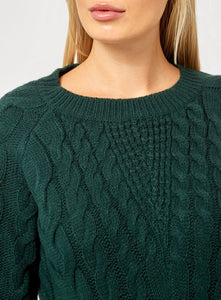 Ex Dorothy Perkins Plus Size Long Sleeve Cable Knit Jumper Green Grey Pink Blue
