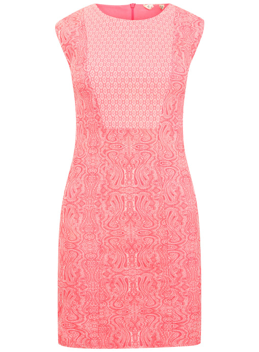 Ex Miss Selfridge Sleeveless Pink Bodycon Dress