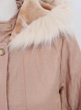 Ex Savida Fur Collar Ladies Parka Jacket Coat