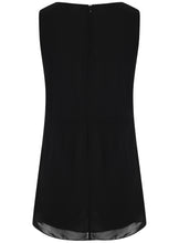 Ladies Sleeveless Black Party Cocktail Dress