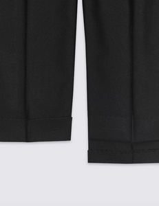 Ex Marks And Spencer Boys Regular Leg School Trousers