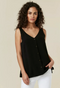 Ex Wallis Button Through Sleeveless Cami Top Vest 3 Colours