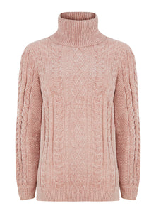 Ex Yessica Ladies Soft Feel Roll Neck Jumper
