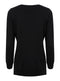 Ex GAP Ladies V Neck Black Jumper Knitwear