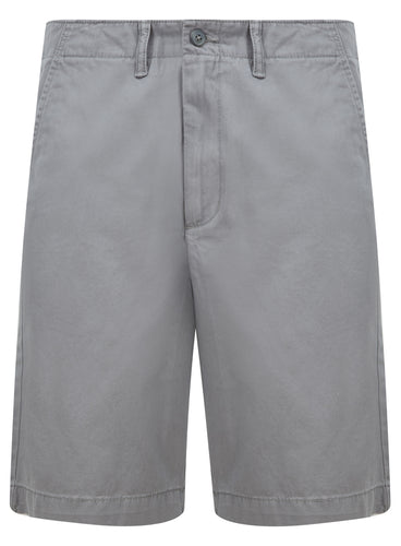Ex Old Navy Mens Grey Chino Cotton Shorts