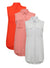 Ex Atmosphere Sleeveless Summer Vest Shirt Blouse Grey Pink Red