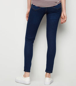 Ex Chainstore Blue Black Mixed Emilee Trouser Jeggings