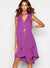Debenhams Star by Julien Macdonald Purple Layered Necklace Tunic Dress