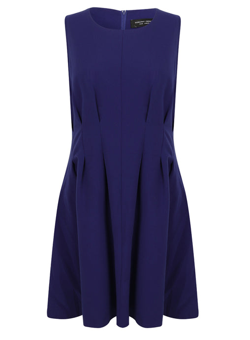 Ex Dorothy Perkins Sleeveless Blue Shift Party Occasion Dress