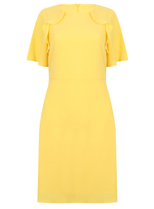 Ex Dorothy Perkins Primrose Yellow Dress