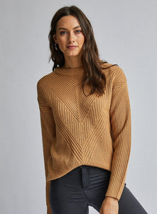 Ex Dorothy Perkins Ribbed Stitch Jumper Knit 4 Colours