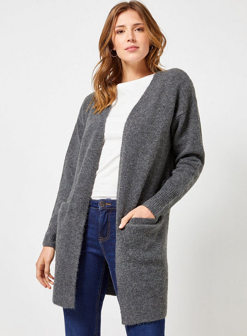 Ex Dorothy Perkins Longline Pocket Detail Cardigan 5 Colours