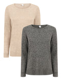 Ex GAP Ladies Crewneck Jumper Knitwear