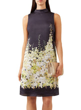 Ex Hobbs Floral Print Sleeveless Satin Delilah Tunic Dress RRP £159