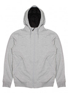 Ex Topman Grey Long Sleeve Mens Zip Jumper Hoody