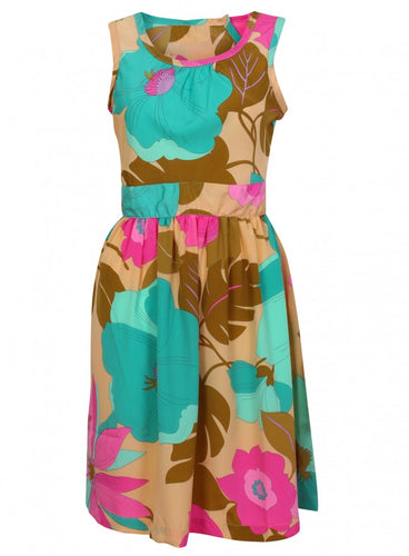 Ex Dorothy Perkins Sleeveless Floral Summer Sun Dress