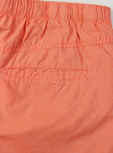 Ex H&M Mens Orange Print Swim Shorts Mesh Lining Size S-XL