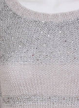 Ex Wallis Sequin Detail 3/4 Sleeve Knitwear Jumper