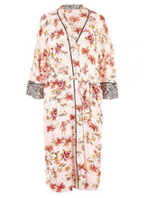 Ex Marks and Spencer Tropical Print Dressing Gown Kimono