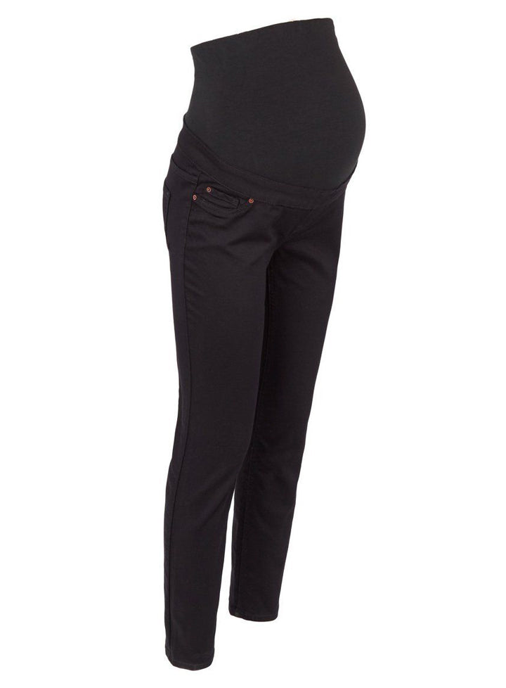 Ex Chainstore Maternity Black Over Bump Jeggings