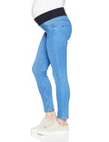 Ex New Look Maternity Underbump Bright Dolly Emilee Skinny Jeans
