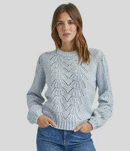 Ex Dorothy Perkins Pointelle Stitch Knit Jumper 3 Colours