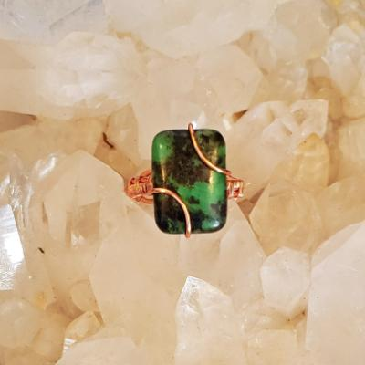 Mexican Chrysoprase Ring